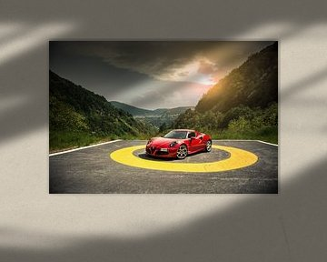 Alfa Romeo 4C King of the Hill