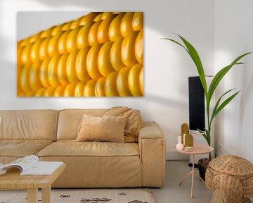 Abstract detail van een maiskolf van Tonko Oosterink