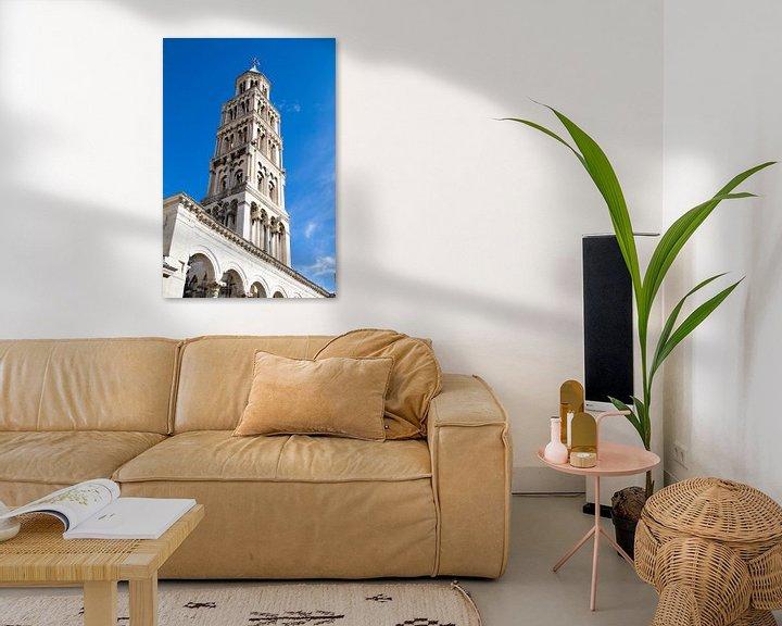 Sfeerimpressie: Toren van Split in Kroatië van Sander Meijering