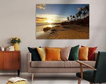Zonsondergang op Hawaii van Antwan Janssen