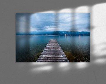Pier in Gardasee sur Frenk Volt