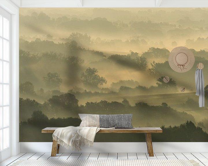 Beispiel fototapete: Misty fields von Harald Harms