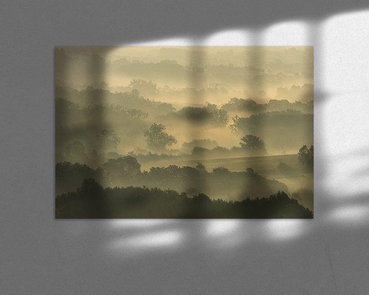 Beispiel: Misty fields von Harald Harms