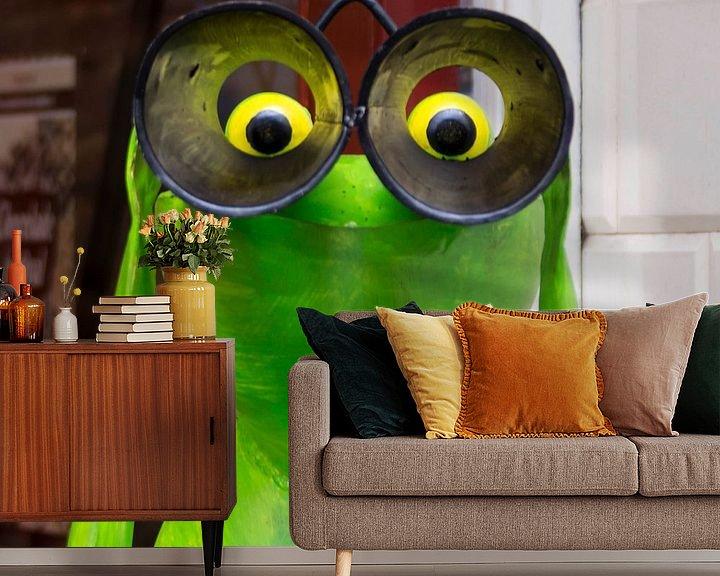 Sfeerimpressie behang: Kikker, ik zie je ! van Jamie Lebbink