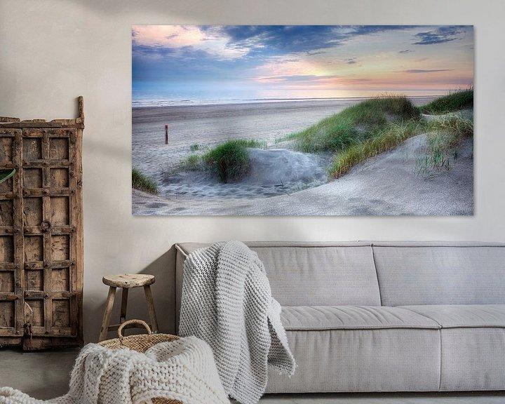 Sfeerimpressie: Strand van Egmond Binnen van Fotografie Egmond