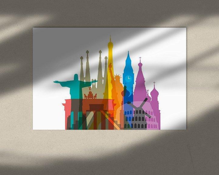 Sfeerimpressie: Colorful World van Harry Hadders