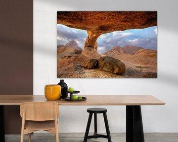 Natürlicher Bogen, Spitzkoppe, Namibia