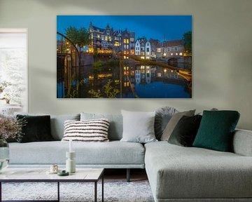 Oude Sluis Delfshaven van Rene Ladenius Digital Art
