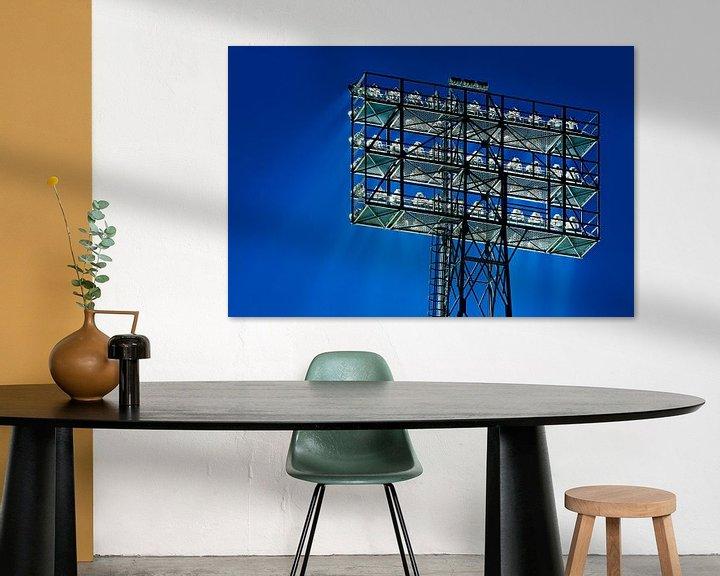 Sfeerimpressie: Lichtmast de Kuip van Anton de Zeeuw