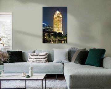 Rembrandt toren te Amsterdam