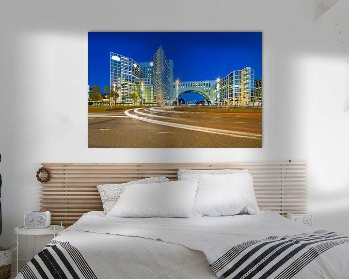 Beispiel: Nacht Foto Gate Haag Den Haag von Anton de Zeeuw