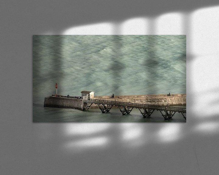 Beispiel: Oceaan pier bij Le Tréport von Harrie Muis