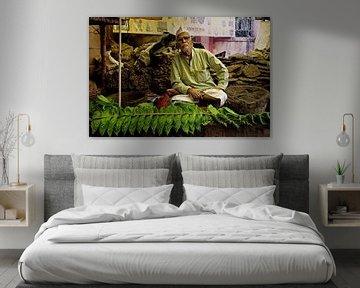 Marktverkoper India von Vincent van Kooten
