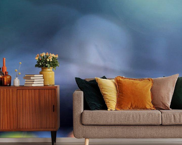 Sfeerimpressie behang: Don't waste your time van Bob Daalder