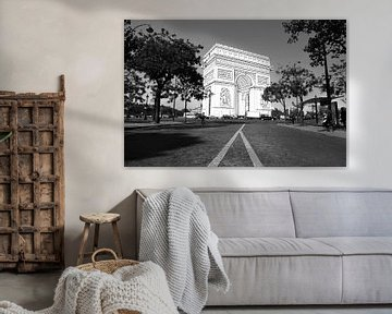 De schets van de  Arc De Triomphe - Parijs, Frankrijk van Be More Outdoor