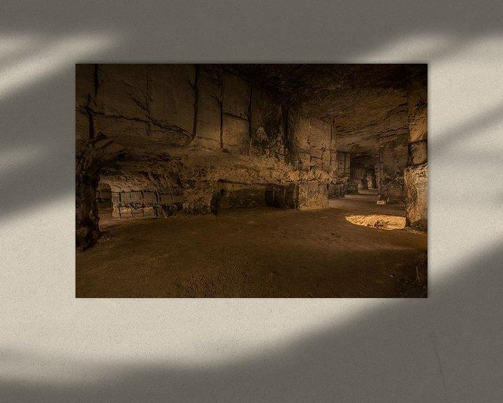 Beispiel: Underground limestone quarry von Bert Beckers