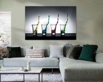 4 colors van Theo Mulder