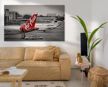 Jetzt kann jeder fliegen ... Witz Air Asia sur Sven Wildschut