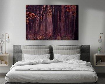 Eenzame herfst van Arno Wolsink