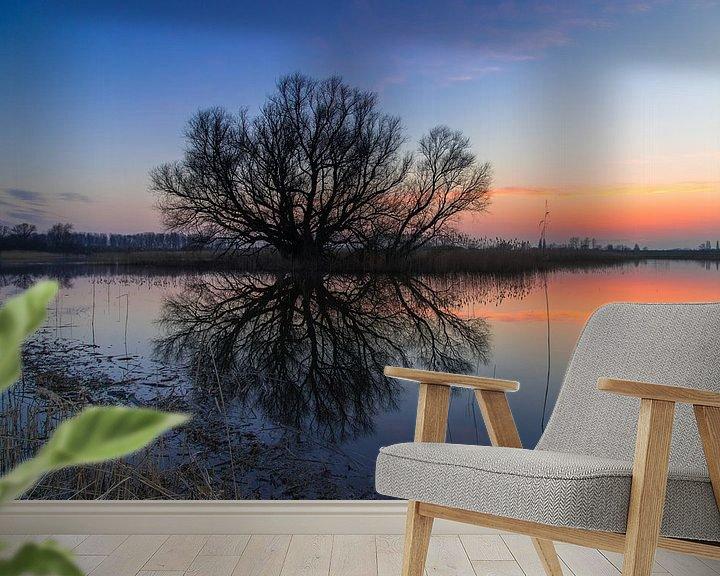 Sfeerimpressie behang: Tree van Eric van Schaijk