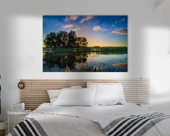 Beispiel: Sunset Hurwenense Kil von Eric van Schaijk