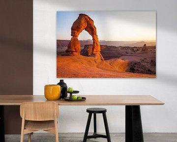 Deicate Arch, USA van Jan Schuler