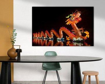 Chinese draak van Maurice de vries