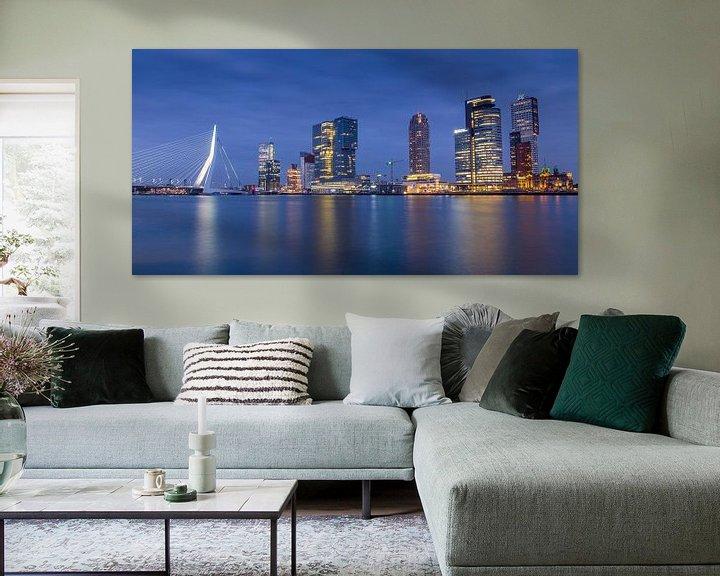 Sfeerimpressie: Rotterdam Skyline @ Night van Jack Tet