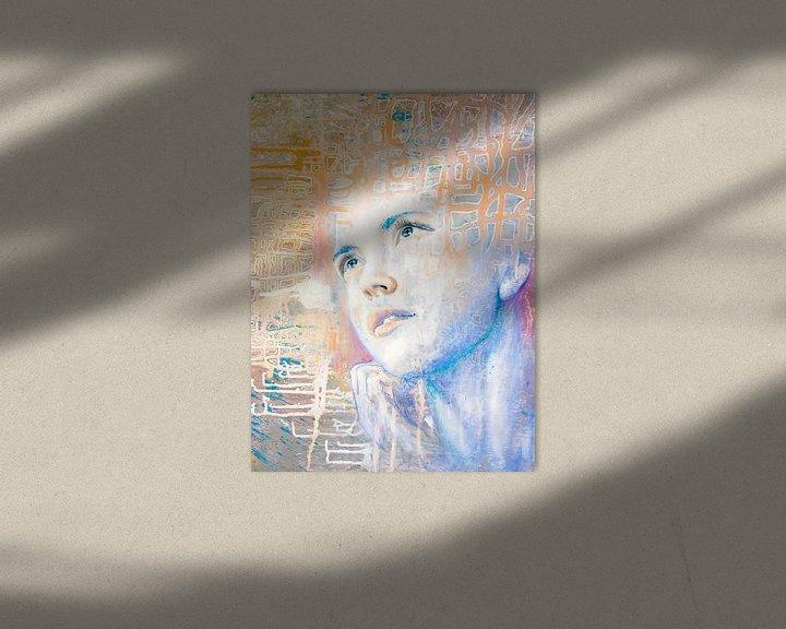 Sfeerimpressie: Dromer   portret van een dagdromer  van Anouk Maria van Deursen
