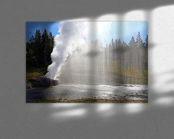 Rivier Geiser in Yellowstone von Antwan Janssen