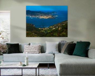 The bay of Portoferrario / Elba