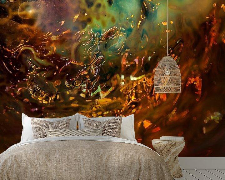 Sfeerimpressie behang: Glaskunst van PJS foto