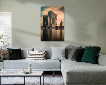 Rotterdam , Skyline van PJS foto