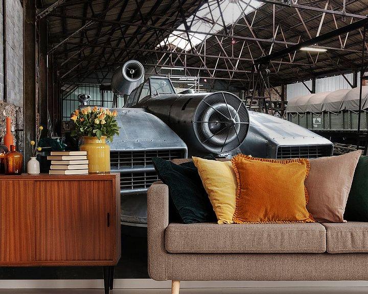Beispiel fototapete: Aerotrain von Dieter Herreman