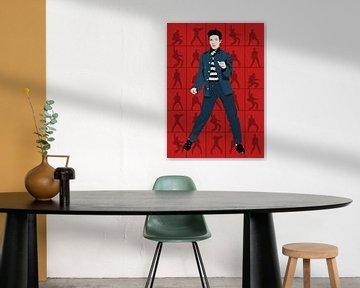Elvis Presley - Jailhouse Rock van Jarod Art
