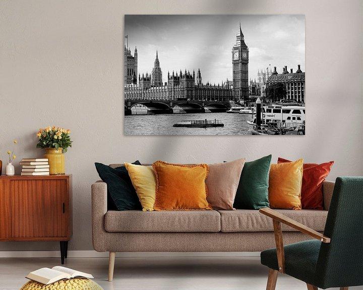 Sfeerimpressie: London ... Westminster & Big Ben van Meleah Fotografie