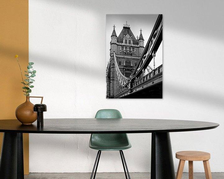 Sfeerimpressie: London ... Tower Bridge III van Meleah Fotografie