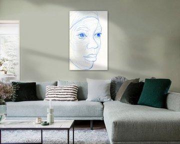 femme africaine sur ART Eva Maria