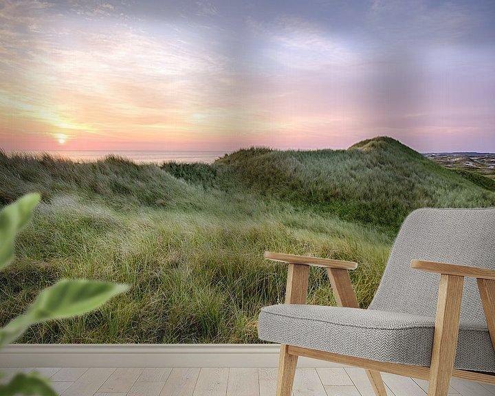 Impression: Sunset over the dunes sur Fotografie Egmond