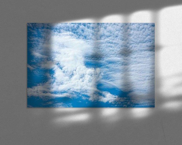 Sfeerimpressie: Altocumulus wolken van Jan Brons