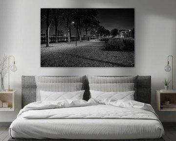 Parkkade in zwartwit van Eisseec Design