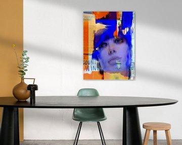 The purple face van Gabi Hampe