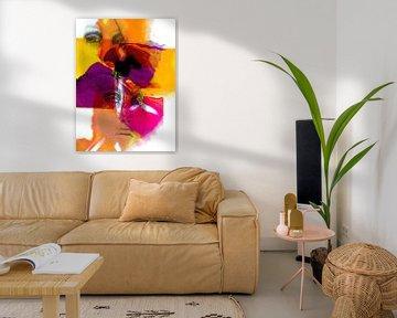 Two colorful women van Gabi Hampe