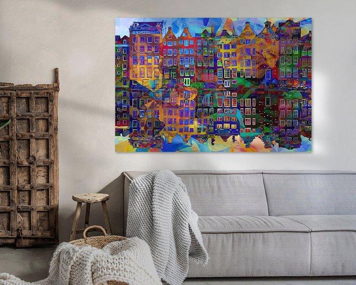 Sfeerimpressie: Amsterdam Abstract van Jacky