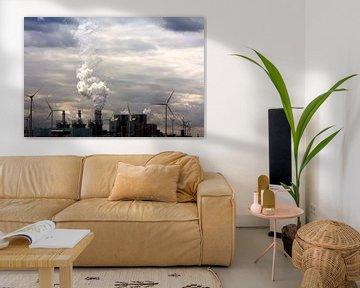 Spookachtige energie landschap van Jan Brons