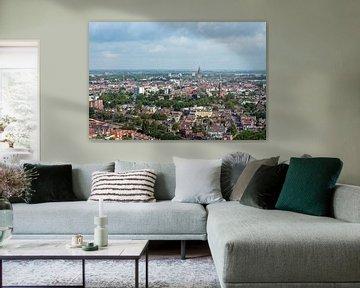 Uitzicht op Groningen von Bob van den Brink