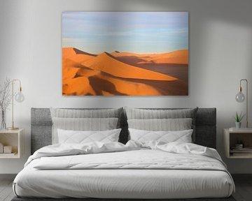 Afrikaanse Zonsopkomst Dune 45  van Dexter Reijsmeijer