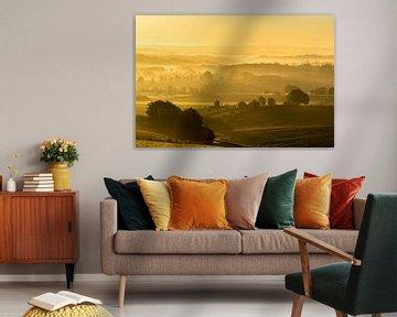 Zuid-Limburgs heuvellandschap von Peter Lambrichs