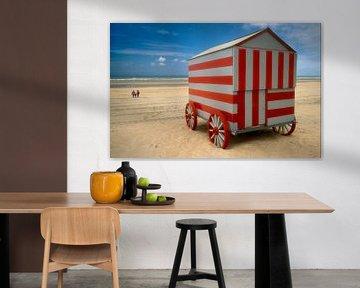 Strandhuis op wielen sur Marcel van Balken