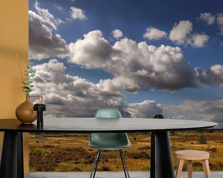 Sfeerimpressie behang: Nationaal Park Hoge Veluwe van Elly Damen